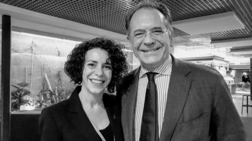 Francesca Del Boca e Alessandro Cecchi Paone