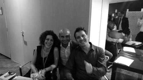 Francesca Del Boca, Gianluca Sammarchi e Savino Zaba