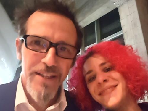 Francesca Del Boca e Germano Lanzoni, il milanese imbruttito